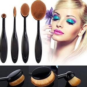 Makeup Brush, Mostsola 4 Pcs Professional Toothbrush Style Eyebrow Foundation Eyeliner Make up Brush Set