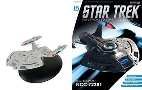 Star Trek Starships Issue 15 U.S.S. Equinox NCC-72381 by Eaglemoss