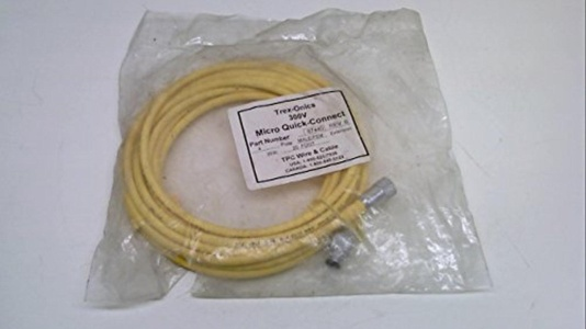 Tpc Wire And Cable 67440, Revision B, Cable, 20 Feet, Male/Female, Str 67440 Revision B