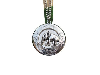 Elephant Locket Necklace Silver Locket Jewelry Womens Locket Lucky Elephant Gift