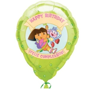 18 Dora & Boots Birthday Personalized Jr. Shape by M-D