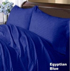 Rinku Linen 400 Thread Count 100% Egyptian Cotton 4-Piece Sheet Set California Queen/XL Queen Size (60