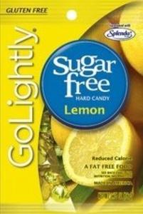 Go Lightly Sugar Free Hard Candy Lemon, 2.75 oz, Kosher by GoLightly