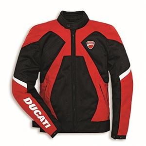 Ducati Mens Summer 2 Fabric Jacket 9810316 (L) by Ducati