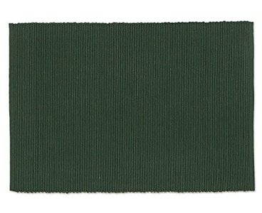 Solid Forest Green Placemat, Set of 4