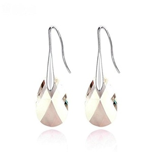 Christmas Day Gift Magic Love Women's Swarovski Element Crystal French Wire Dangle Earrings