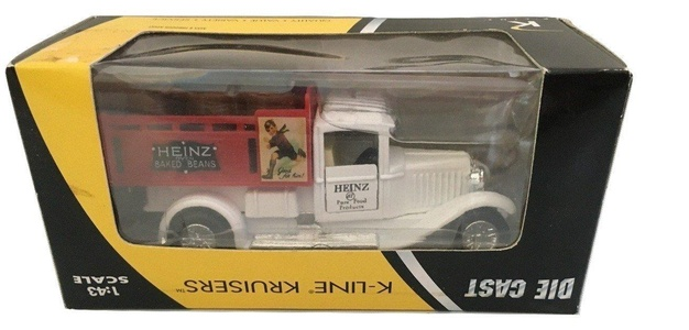 Heinz Vintage Die Cast Truck Train ACC by K-Line