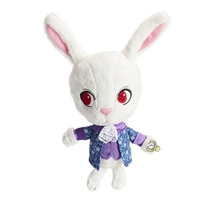 Alice Through the Looking Glass White Rabbit Baby Plush by Alice Through the Looking Glass
