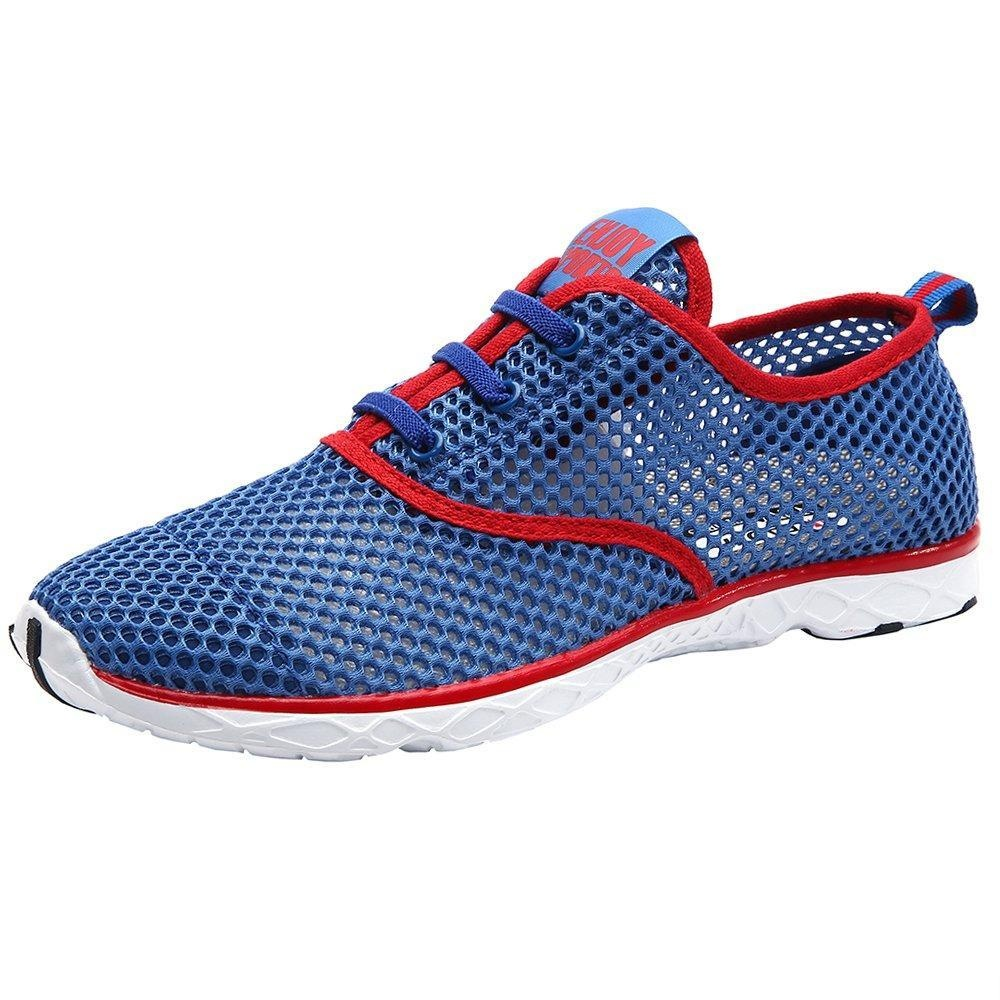 f760df6782 Online Store: Aleader Men's Quick Drying Aqua Water Shoes Red 12 D(M) Us