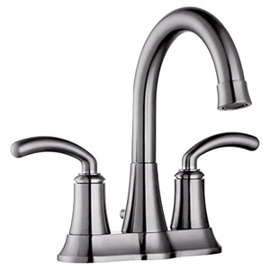 Yosemite YP5704 Double Handle Centerset Bathroom Faucet with Pop-up Drain