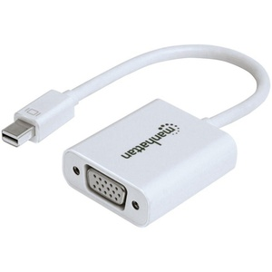 MANHATTAN 151382 Mini DisplayPort to VGA Adapter Cable, 15cm
