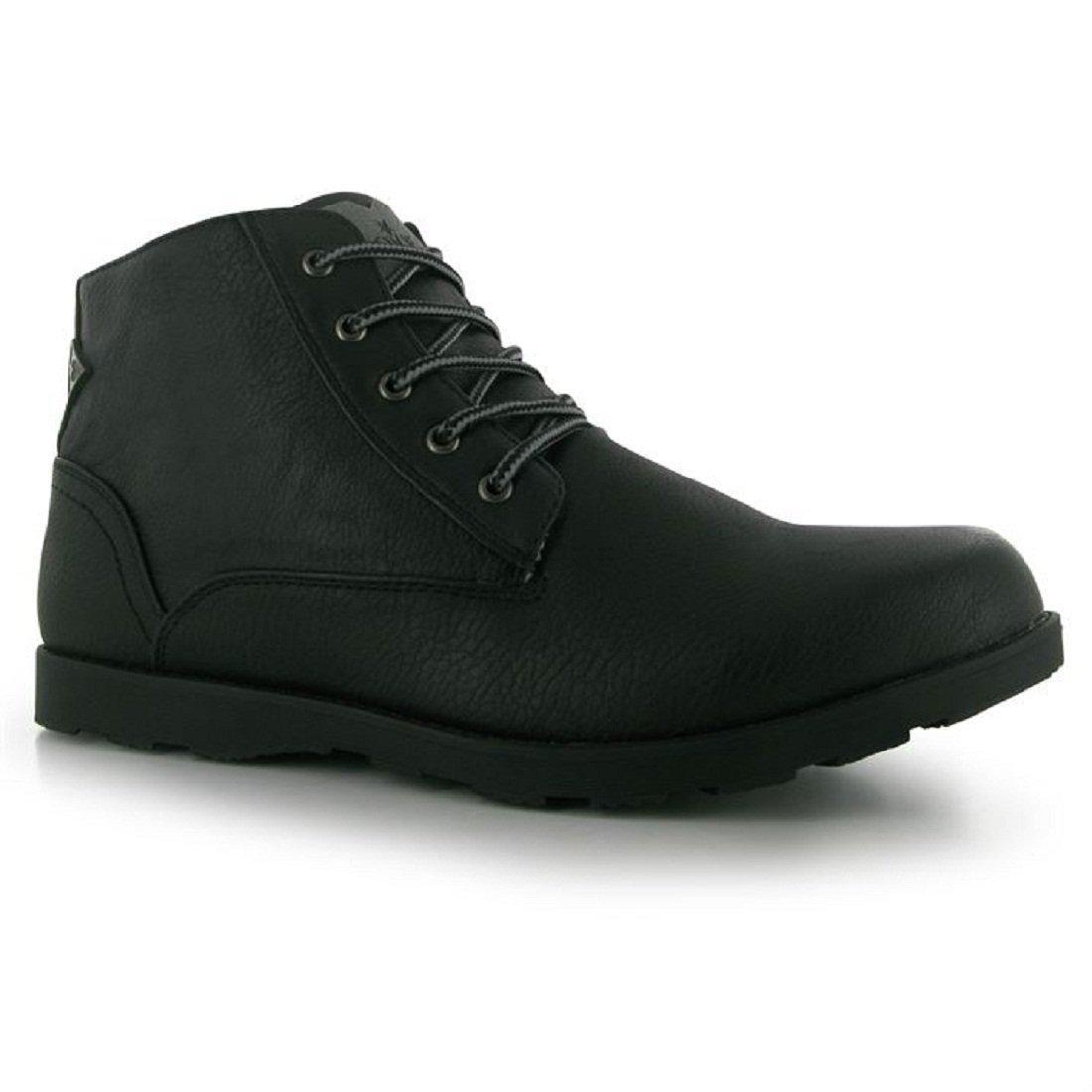 Mens Soviet Remix Boots Shoes Black (UK 10 / US 10.5)