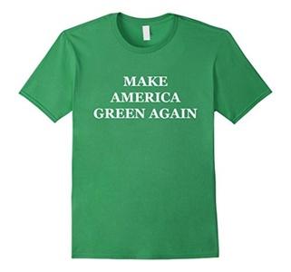 Men's Make America Green Again T-Shirt Large Grass