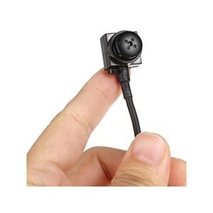 1-Pack ESC 600TVL CMOS HD Mini Camera, Pinhole Security Camera Hidden camera Micro Spy Camera for Home Security Surveillance