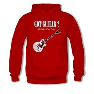 Got Guitar For women Printed Sweatshirt Pullover Hoody