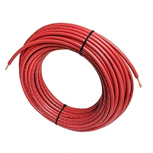 ADC PV Wire - 250FT, 10 AWG, 2000V Solar Cable UL 4703 ,Copper MADE IN USA - RED