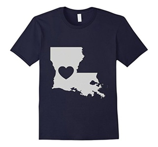 Men's Louisiana Home State Love