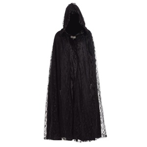 Blessume Gothic Witch Cloak Black