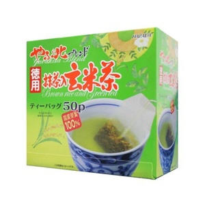Harada Tea - VALUE: Yabukita Blend Japanese Genmai-cha with Matcha TeaBag (2gÃ-50p) Popcorn tea Extra Volume & Value Price from Japan ã€NO tracking numberã€' by Tokyo Matcha Selection