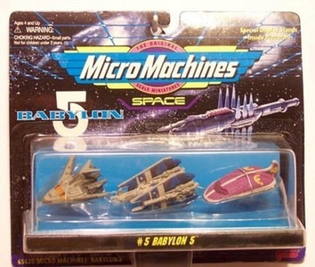 micro machines babylon 5 - set #5 by Galoob Micromachines