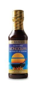 San-J Sauce, Mongolian Gluten Free, 10 Ounce (Pack of 6) by San-J