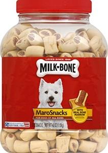 Milk-Bone 2 Count Marosnacks for Dogs in 40 oz Jar, Small