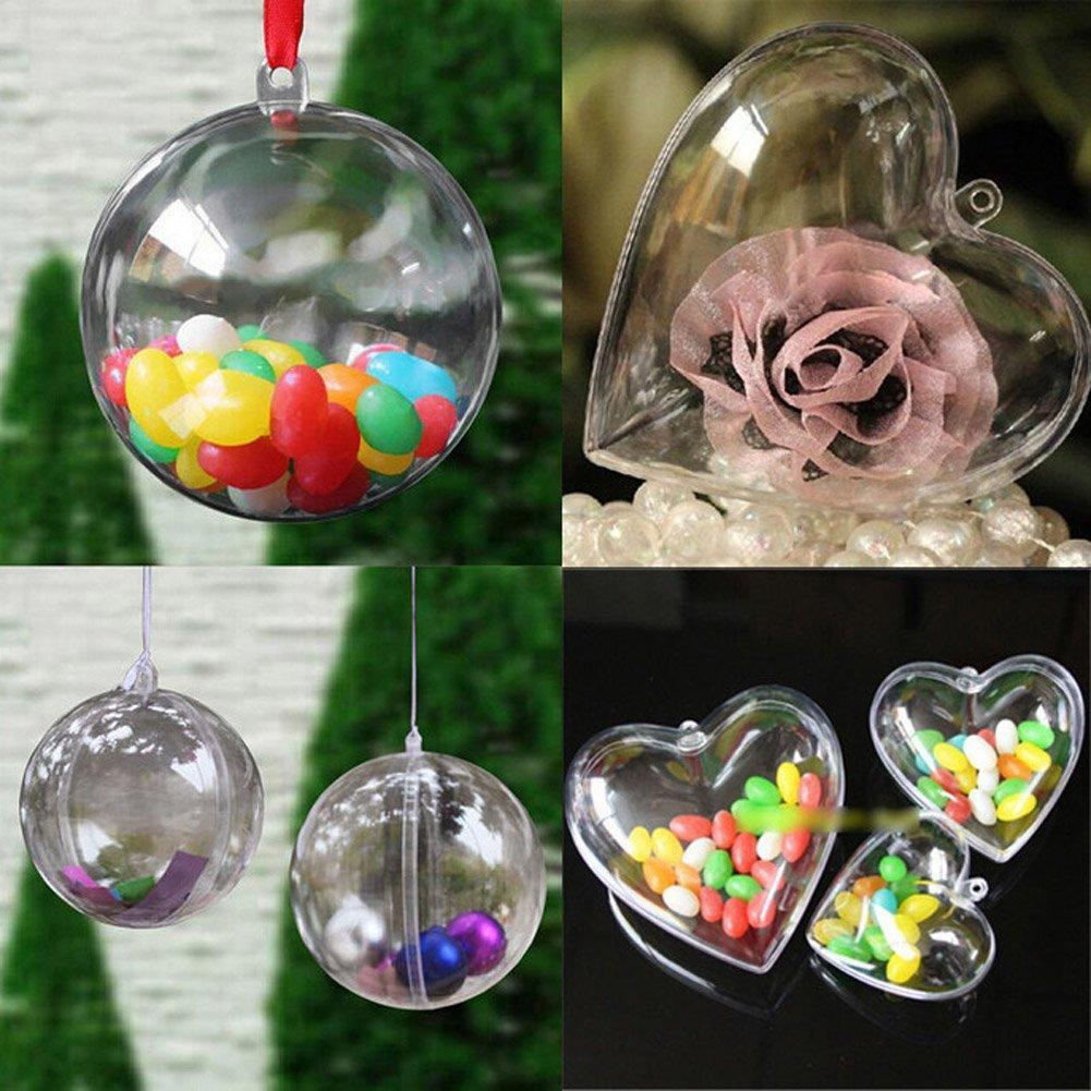 Clear fillable plastic ornaments - Clear Plastic Christmas Ball Ornament Crafts Agytech Christmas Ball Ornament Clear Plastic Fillable Ball Diy
