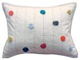 Pehr Designs Pom Pom Pillowcase, Multi by Pehr Designs