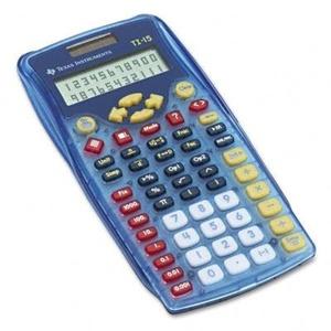 Texas Instruments TI-15 ExplorerTM Elementary Calculator