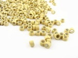 Silicone Micro Rings - 5mm / Blonde - For I-Tip & Feather Hair Extensions by CyberloxShop