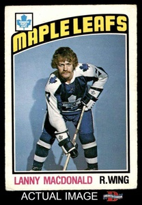 1976 O-Pee-Chee NHL # 348 Lanny McDonald Toronto Maple Leafs (Hockey Card) Dean's Cards 3 - VG
