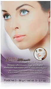 Satin Smooth Ultimate Face Lift Collagen Mask 3 Pcs by Satin Smooth