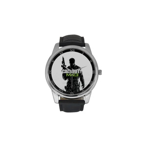 Buffy The Vampire Slayer DBLN554 Men Wrist Watches Leather Strap Large Dial Watch