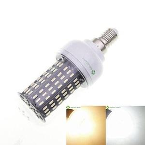 SENCART 4 x E27 B22 E14 GU10 12W 138 x 4014SMD 1200LM Warm White / Cool White Led Light Bulbs AC110 AC240V) ( Connector : GU10 , Light Source Color : Cool White-220V )