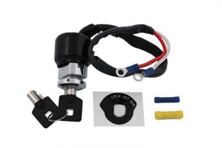 V-Twin 32-9038 - Barrel Key Ignition Switch by V-Twin