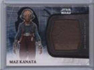 Maz Kanata (Trading Card) 2016 Topps Star Wars: The Force Awakens Series 2 - Medallions - Bronze #13