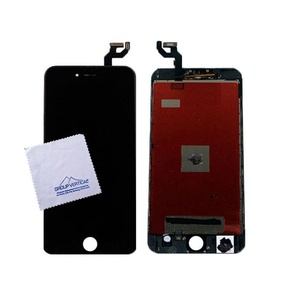 Touch Screen Digitizer LCD Assembly for Apple iPhone 6s Plus + Black A1634 A1687 A1699 by Group Vertical