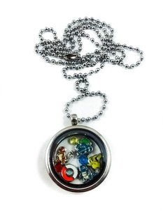 Pokemon Locket Necklace by Living Memory Lockets for Less Pikachu Squirttle Charmander Bulbasaur