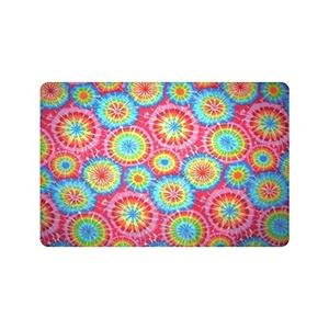 Colorful Tie Dye Custom Doormat Entrance Mat Floor Mat Rug Indoor/Outdoor/Front Door/Bathroom Mats Rubber Non Slip Size 23.6 x 15.7 inches