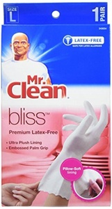 Mr. Clean Bliss Premium Latex-Free Gloves, Large, 2 pairs by Mr. Clean