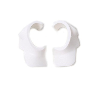 CLOVER Camera Cover Eyes Protector for Front Visual Obstacle Avoidance System Cameras, Dustproof & Moistureproof Cap For DJI Phantom 4 - White