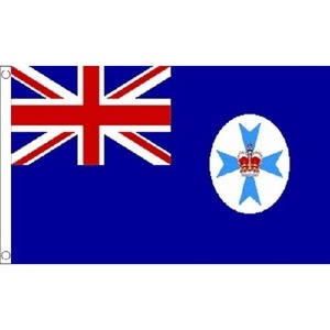 Queensland Small Flag 3Ft X 2Ft Australian County Australia Banner New by Queensland