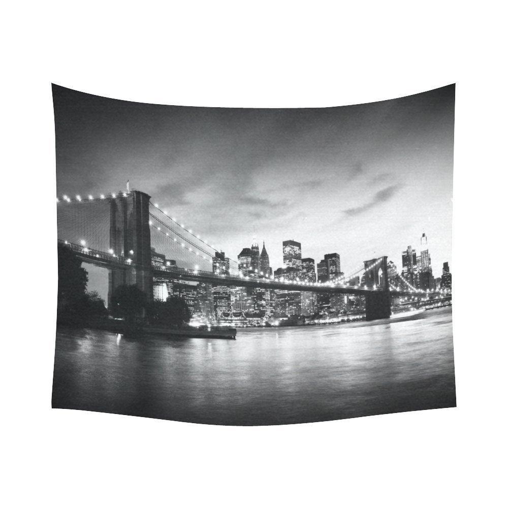 New York Skyline Wallpaper For Bedroom Online Store Interestprint Nyc New York Skyline Brooklyn Bridge