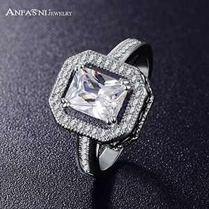 Slyq Jewelry Gorgeous Fashion Knuckle Ring Platinum Plated Micro Inlay Zircon Jewelry Anelli CRI0153-B