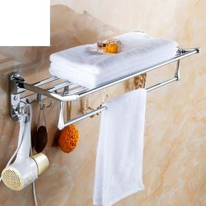 Stainless steel Towel rack/The room folded Towel rack/Bathroom racks-A