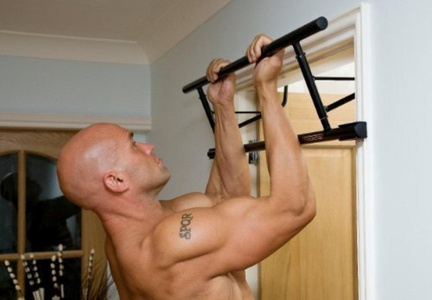 Powerbar 2 Pull-Up Bar for Door without Screws by Innovation Fitness