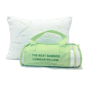 The Original Best Bamboo Rayon from Bamboo Memory Foam Lumbar Pillow