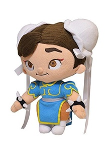 Street Fighter Plush Figure Chun-Li 30 cm by Street Fighter