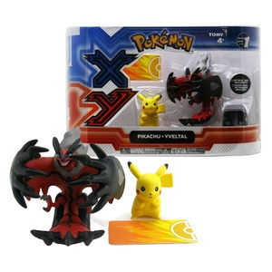 Pokemon XY Yveltal and Pikachu Legendary Figures (Pack of 2) (Dispatched From UK)