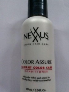 Nexxus Color Assure Radiant Color Care Conditioner Travel Size 3 oz. by Nexxus